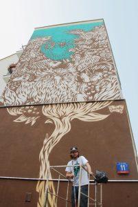mural Pawła Swanskiego