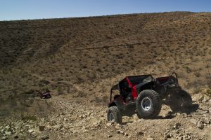 jeep rock crawling